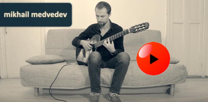Ambient Guitar Depressionism Part 2 Strymon TimeLine, BigSky, Godin Multiac, Fishman Aura