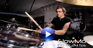 Tobias Ralph plays DW Drums